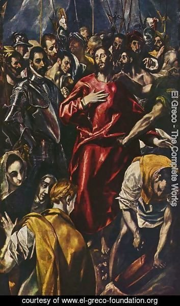 El Greco - The Disrobing of Christ, 1583-84