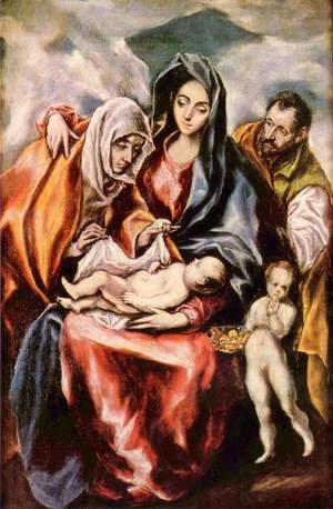 El Greco - The Holy Family