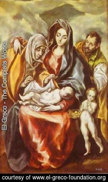 The Holy Family 1594-1604