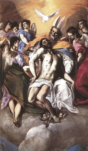 El Greco - The Holy Trinity 1577-79