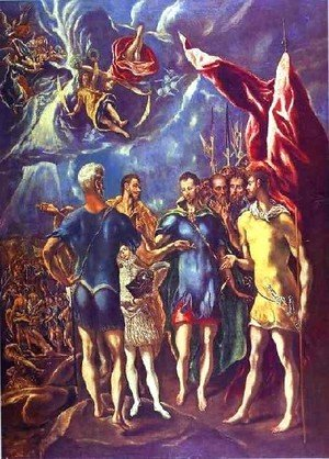 El Greco - The Martyrdom Of St  Maurice Ii