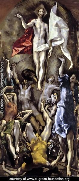 El Greco - The Resurrection 1596-1600