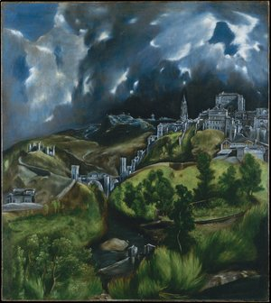 El Greco - View of Toledo 1597-99