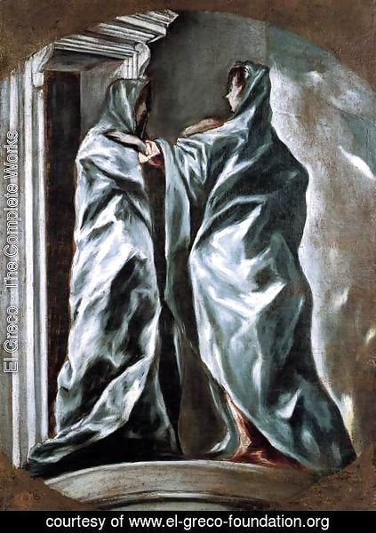 El Greco - The Visitation 1610-13