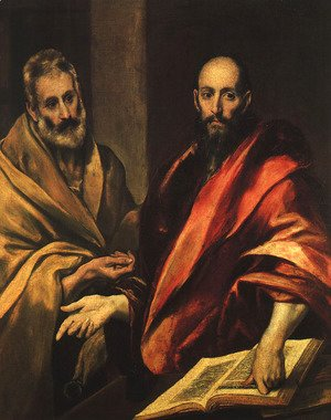 El Greco - Apostles Peter and Paul 1592