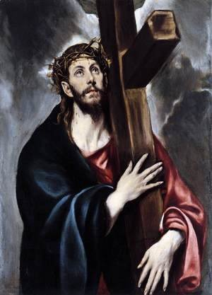 El Greco - Christ Carrying the Cross, 1600-1605