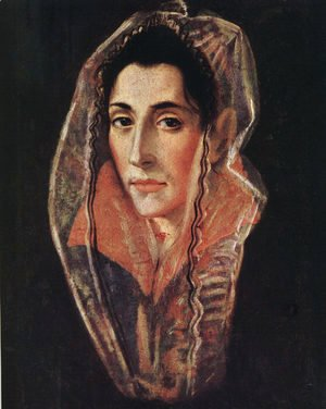 El Greco - Portrait of a Lady, 1594-1601