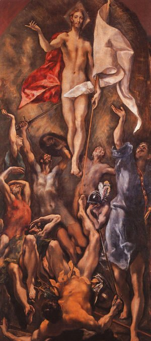 El Greco - Resurrection, 1584-94