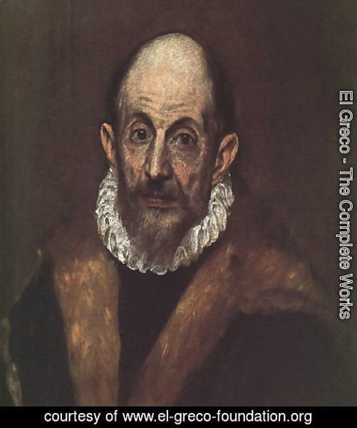 El Greco - Self-Portrait 1604