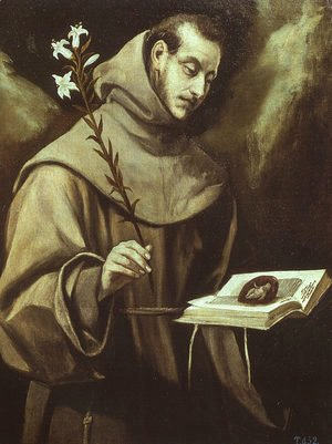 El Greco - St. Anthony of Padua