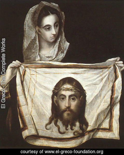 St Veronica Holding the Veil c. 1580