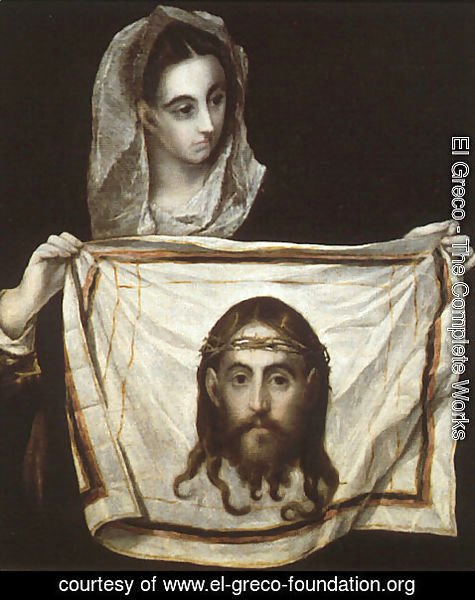 El Greco - St Veronica Holding the Veil c. 1580