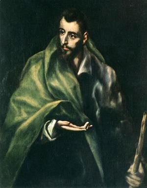 El Greco - Apostle St James the Greater 1610-14