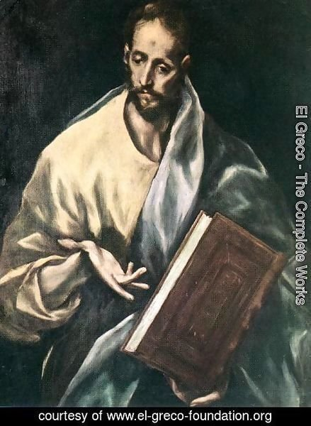 El Greco - Apostle St James the Less 1610-14