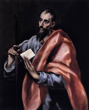 El Greco - Apostle St Paul 1610-14