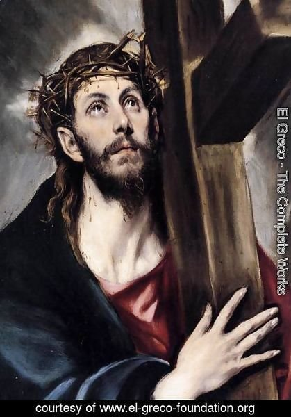 El Greco - Christ Carrying the Cross (detail) 1580s