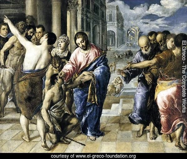 Christ Healing the Blind 1570-75