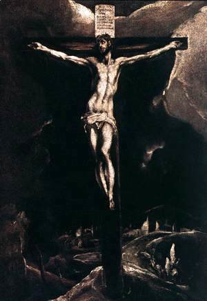 El Greco - Christ on the Cross 1585-90