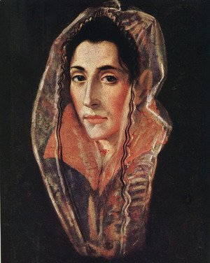 El Greco - Female Portrait c. 1595