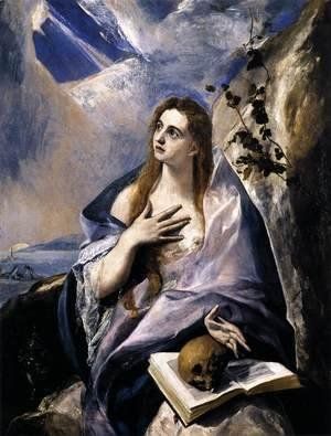 El Greco - Mary Magdalen in Penitence 1576-78