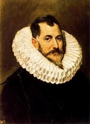 El Greco - Portrait of a Gentleman 1600-05