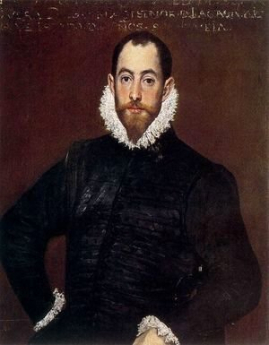 El Greco - Portrait of a Gentleman from the Casa de Leiva 1580