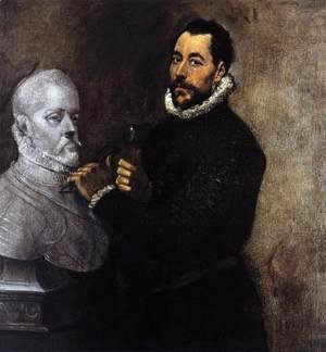 El Greco - Portrait of a Sculptor 1576-78