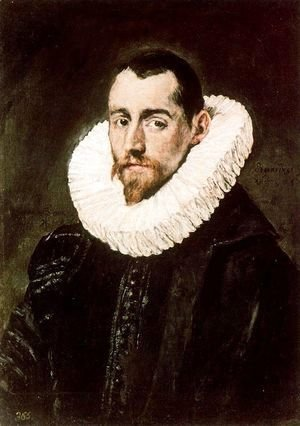 El Greco - Portrait of a Young Gentleman 1600s