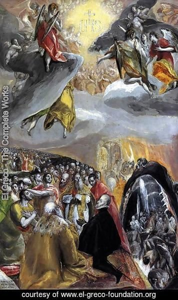 El Greco - The Adoration of the Name of Jesus 1578-80