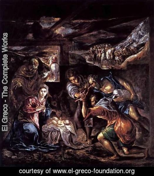El Greco - The Adoration of the Shepherds 1570-72
