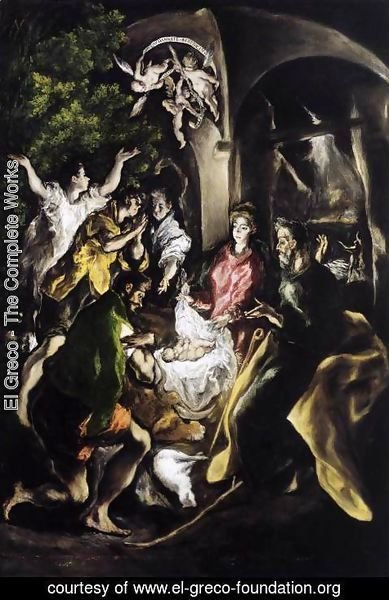 El Greco - The Adoration of the Shepherds c. 1610