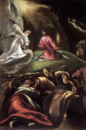 El Greco - The Agony in the Garden (2) 1600-05