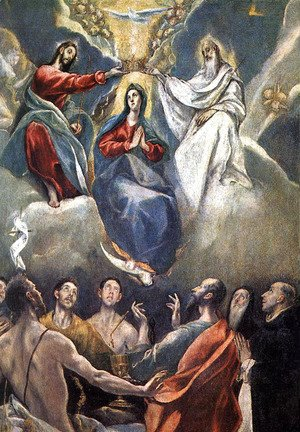The Coronation of the Virgin (2)  1591