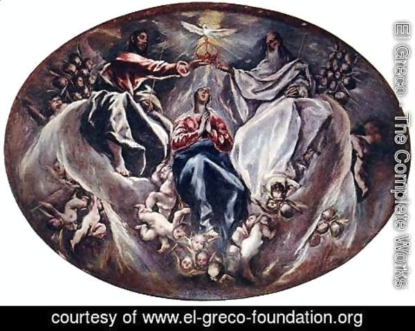 El Greco - The Coronation of the Virgin 1603-05