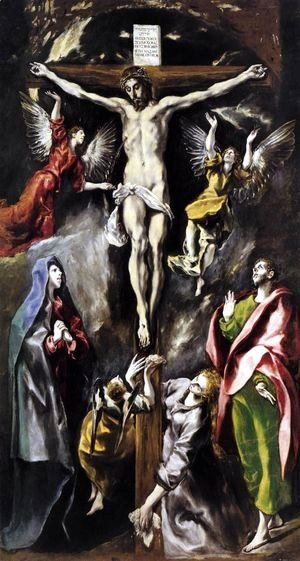 El Greco - The Crucifixion 1596-1600