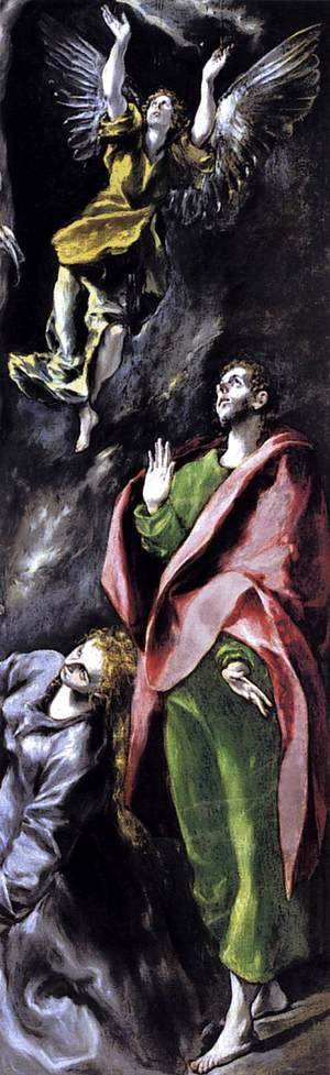 El Greco - The Crucifixion (detail) 1596-1600