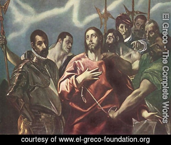 El Greco - The Disrobing of Christ c. 1600