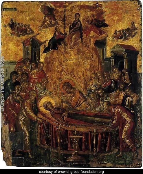 The Dormition of the Virgin before 1567