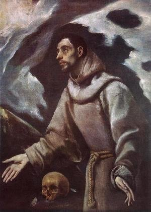 El Greco - The Ecstasy of St Francis c. 1580