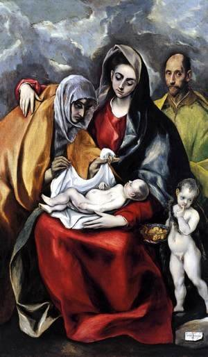 The Holy Family 1586-88