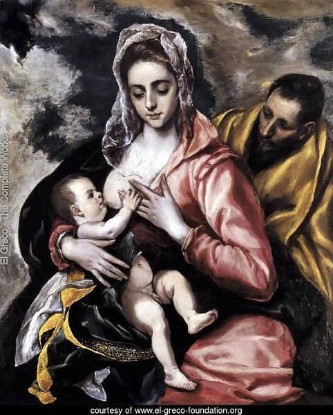 The Holy Family c. 1585