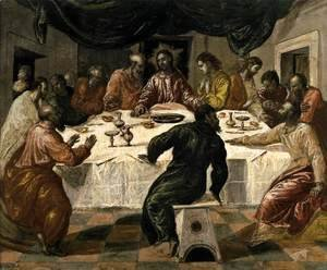 El Greco - The Last Supper c. 1568