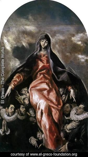 El Greco - The Madonna of Charity 1603-05
