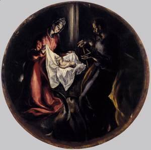 El Greco - The Nativity 1603-05