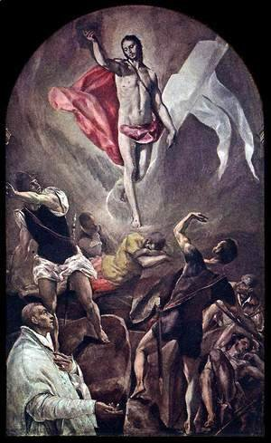 El Greco - The Resurrection 1577-79