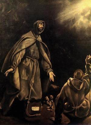 El Greco - The Stigmatization of St Francis 1600-05