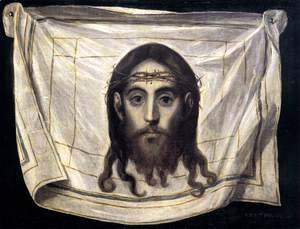 El Greco - The Veil of St Veronica 1580-82