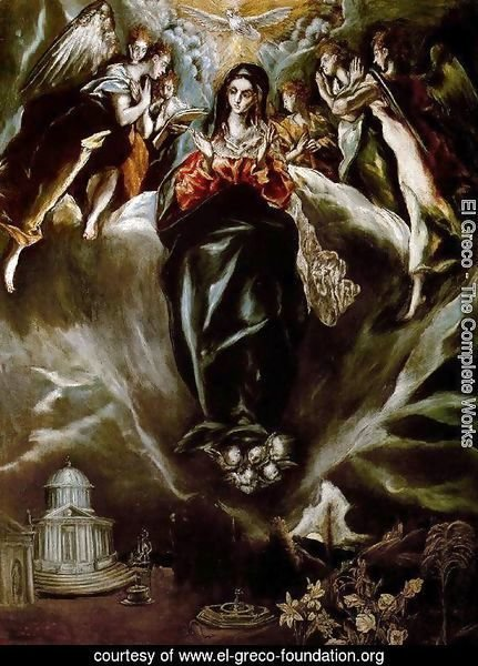 The Virgin of the Immaculate Conception 1605-10
