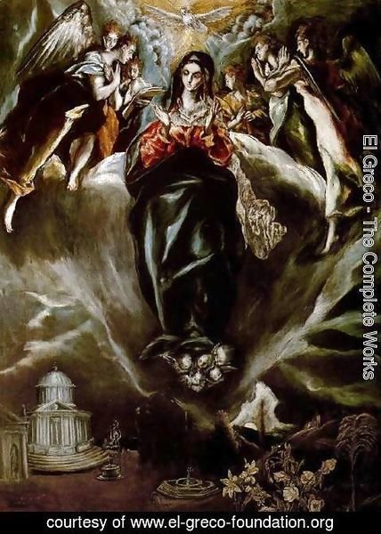 El Greco - The Virgin of the Immaculate Conception 1605-10