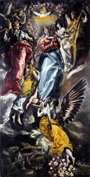 El Greco - The Virgin of the Immaculate Conception 1608-13
